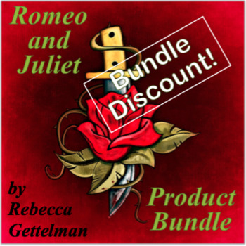 Romeo and Juliet by William Shakespeare Product Bundle