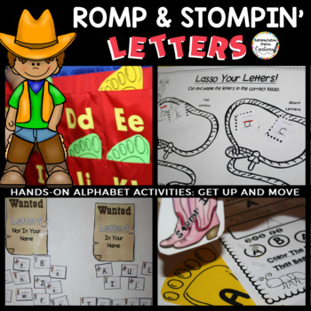 Romp and Stomping Letters: Hands-On Alphabet Activities, S