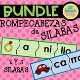 Silabas - Rompecabezas de 2 & 3 Silabas - compra los 2 y ahorra