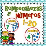 Números 1-20