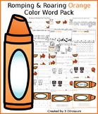 Romping & Roaring Color Orange Pack