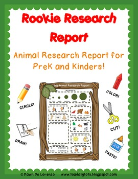 Rookie Research Report {Animal Edition}