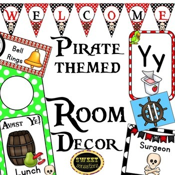 Room Decor (Pirate Theme)