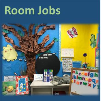Room Jobs and Chores--Increase Verbalization, Responsibili