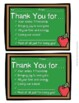 Thank You Notes: 3 Designs Options in Color & Black & Whit