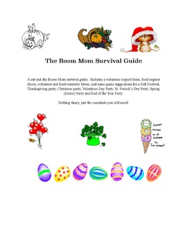 Room Parent Survival Guide -- A great asset to provide to