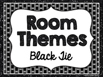 Room Themes: Black and White