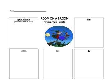 Room on a Broom - Character Traits