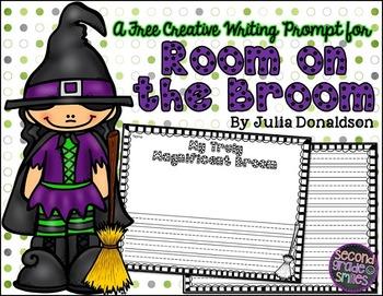 Room on the Broom (Free Halloween Writing Prompt)