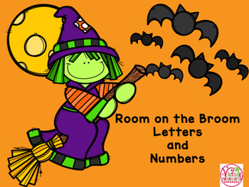 Room on the Broom Letters and Numbers