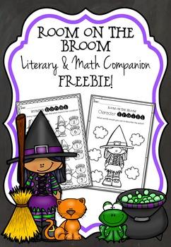 Room on the Broom Literary and Math Freebie