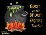 Room on the Broom {Rhyming Freebie}