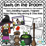 Room on the Broom Stick Puppet Craft & Writing Activity fo
