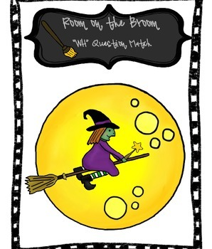 "Room on the Broom ""WH' Question Match - REVISED with more"