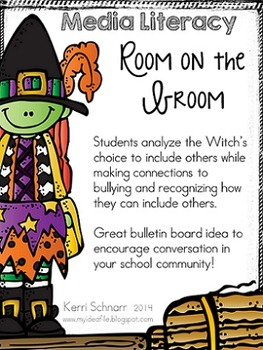 Room on the Broom: a media literacy poster activity