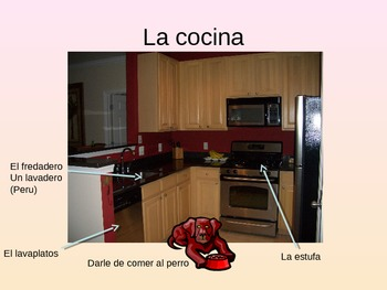 Rooms/ Furniture/ Chores PowerPoint, Expresate Chapter 2,