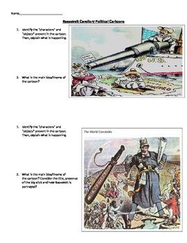 Roosevelt Corollary Political Cartoons