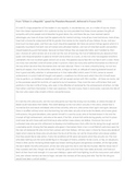 Roosevelt Speech- AP Language and Composition - Analysis O