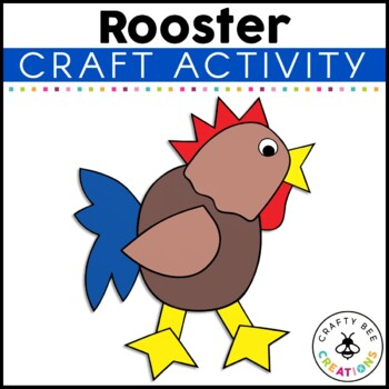 Rooster Cut and Paste