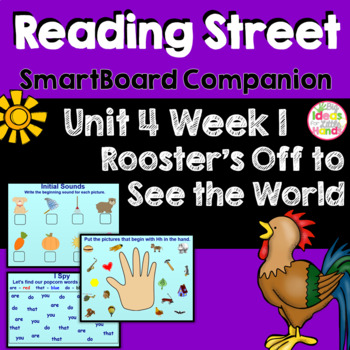 Rooster's Off to See the World SmartBoard Companion Kindergarten