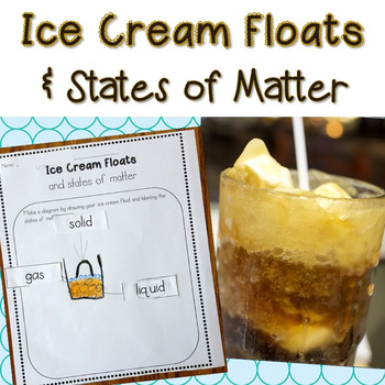 Ice Cream Floats and States of Matter