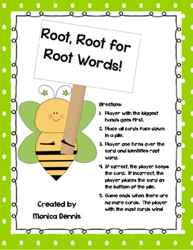 Root, Root for Root Words
