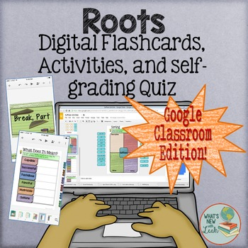Root Words Interactive Activities for Google Classroom and