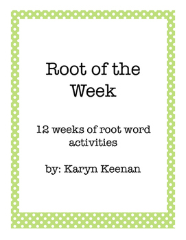Root of the Week