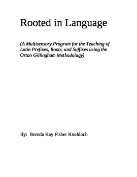 Rooted in Language - Intro Only
