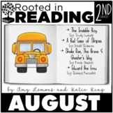 Rooted in Reading August:  August Read Aloud Lessons and A