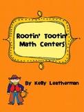 Rootin' Tootin' Math Centers