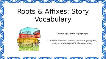 Roots & Affixes: Story Vocabulary