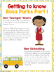Rosa Parks Activity Pack Grades 3-6 | Printable Worksheets