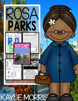 Rosa Parks Black History Month Actitives