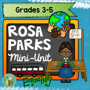 Rosa PARKS foldables and Roll-the-dice activity {Mini-Unit}