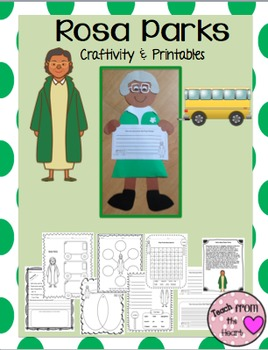 Rosa Parks Craftivity (A Black History Month Craftivity)