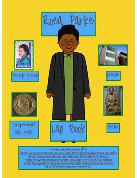 Rosa Parks Lap Book