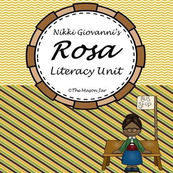 Rosa Parks - Literacy Unit