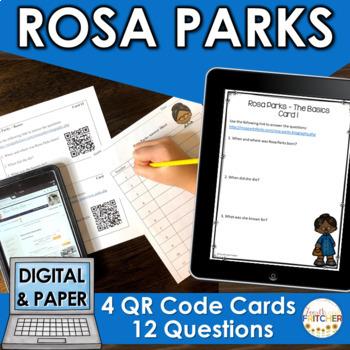 QR Code Quest: Rosa Parks