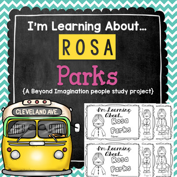 Rosa Parks Study | 48 Pages for Differentiated Learning +