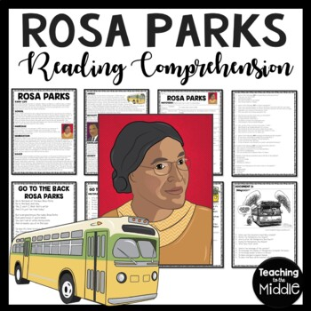 Rosa Parks biography, poem, primary sources, DBQ, Civil Ri