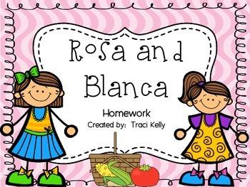 Rosa and Blanca Homework - Scott Foresman 2nd Grade