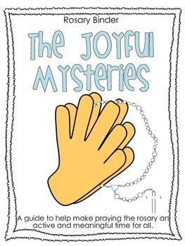 Rosary Binder - the Joyful Mysteries