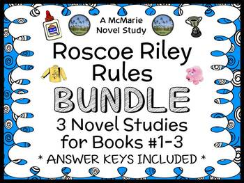 Roscoe Riley Rules BUNDLE (Katherine Applegate) 3 Novel St