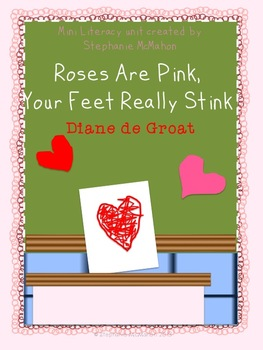 Roses are Pink, Your Feet Really Stink by Diane de Groat m