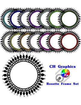Rosette Frame Set