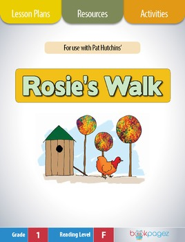 Rosie's Walk Lesson Plans & Activities Package, First Grad