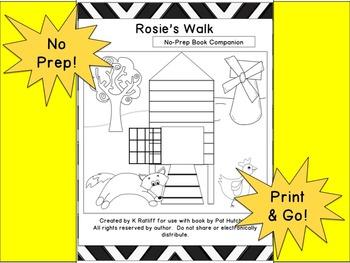 Rosie's Walk :  No-Prep Book Companion