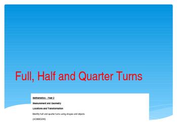 Rotation - Half, Full, Quarter