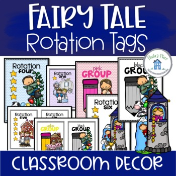 Rotation and Group Tags - Fairy Tale Theme